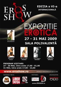 Afis Eros SHOW 2009 nou